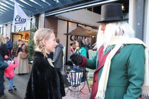 Zoë de Kinkelder met Scrooge